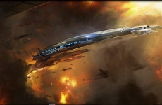 mass_effect_3_normandy_lithograph_by_benjamin_huen