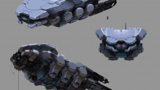 Transport de troupes Kert par Brian Sum