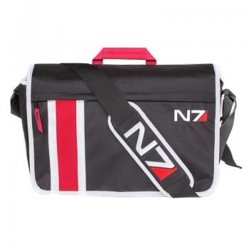 N7 ARMOUR STRIPE MESSENGER BAG