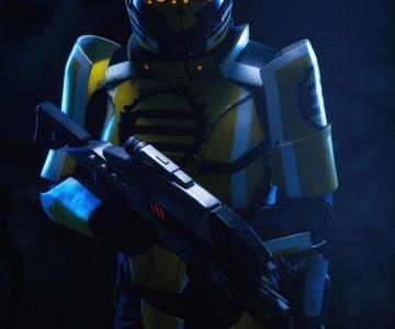 Soldat d'Eclipse par facebook.com/CraftsOfTwo