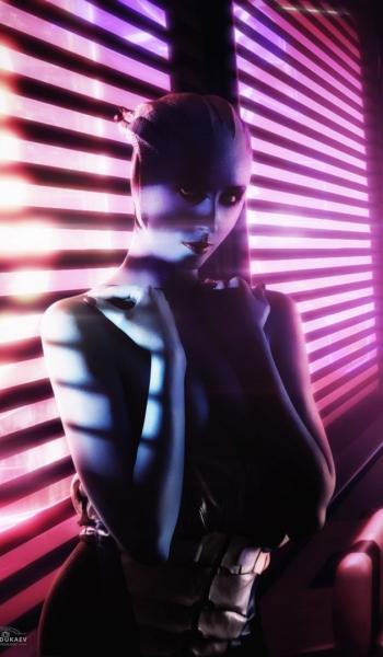Liara from Mass Effect Cosplay by demon00700.deviantart.com