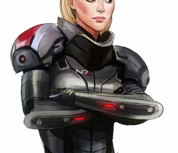Shepard 2 by crystalgraziano.tumblr.com