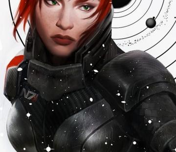 Shepard galaxy by crystalgraziano.tumblr.com