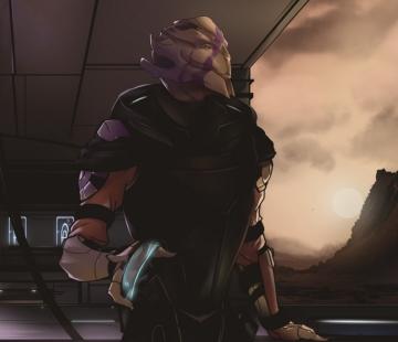 Mass Effect Andromeda Vetra by 7Zaki.deviantart.com