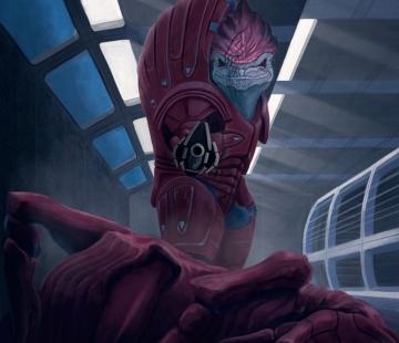 Wrex Andromeda Series Commision # 7 by wizjer.deviantart.com