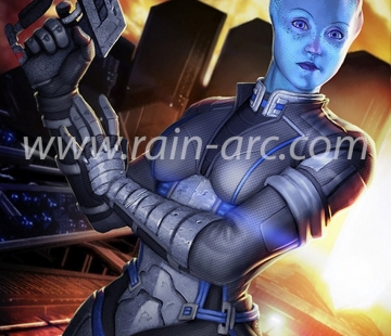 Liara from Mass Effect by LorBot.deviantart.com