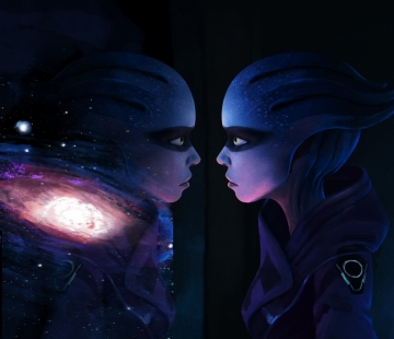 Peebee - Andromeda digital art by goblinight.deviantart.com