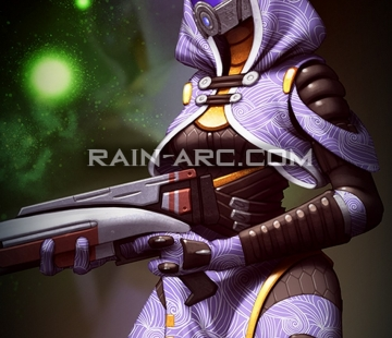 Tali from Mass Effect by LorBot.deviantart.com