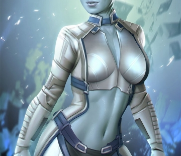 Liara TSoni by ynorka.deviantart.com