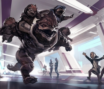 Mass Effect Andromeda Something to Fight For by Benlo.deviantart.com