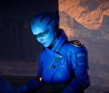 Peebee Mass Effect Andromeda by NevoX01.deviantart.com