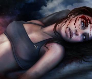 Sarah Ryder Mass Effect Andromeda by RINxxxRIN.deviantart.com