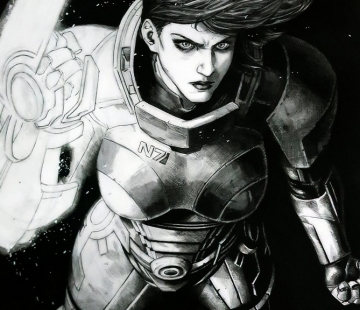 FEMALE SHEPARD Mass Effect by grandizer05.deviantart.com