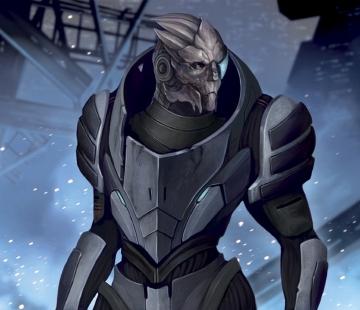Mass Effect Series 2 Garrus Vakarian by Pakoune.deviantart.com
