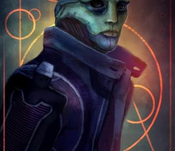 Thane Krios by Wolnir.deviantart.com