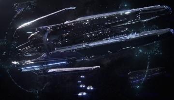 La station d'exploration vu dans le précédent trailer