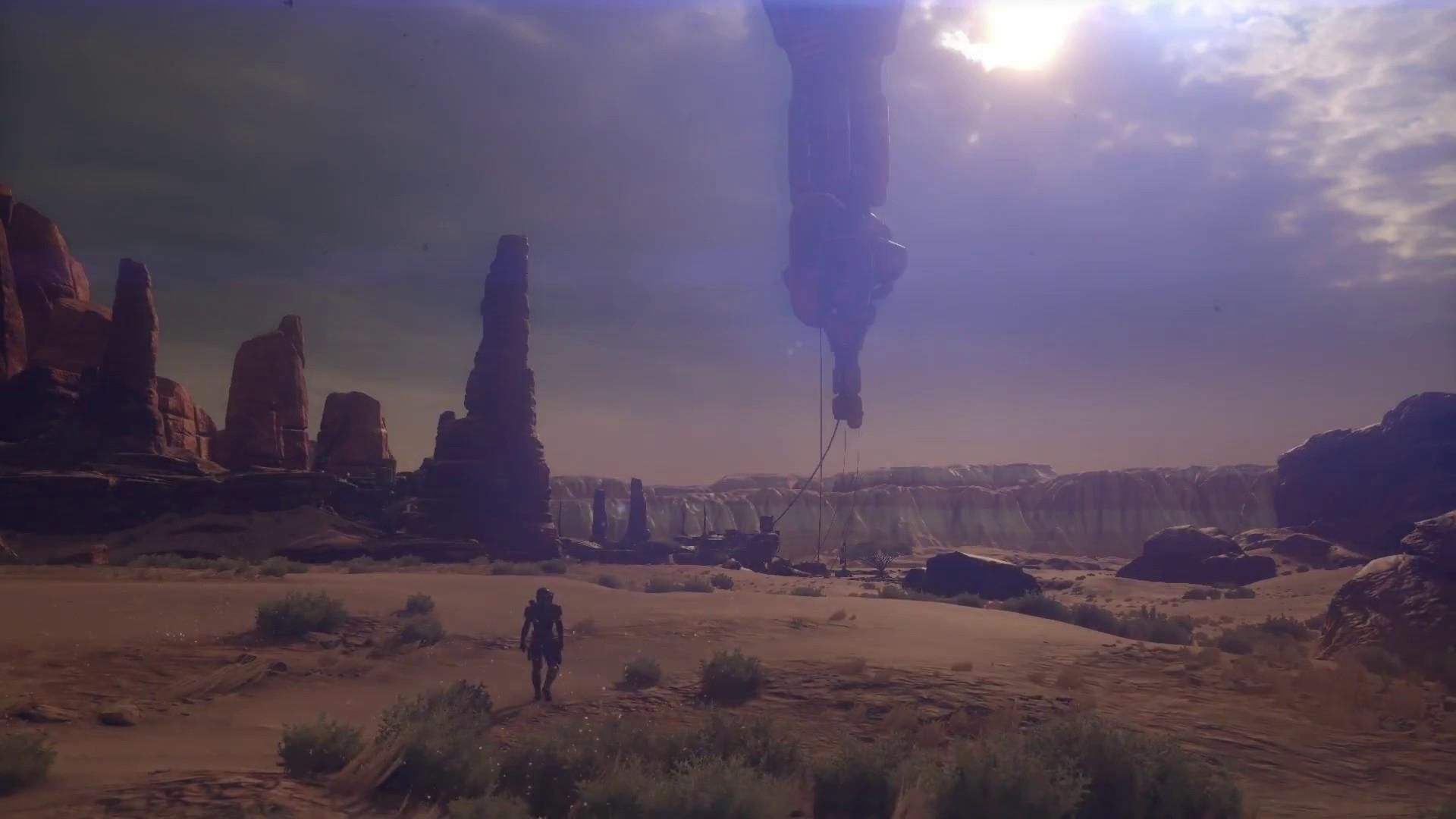 Une scène rappelant un précédent trailer