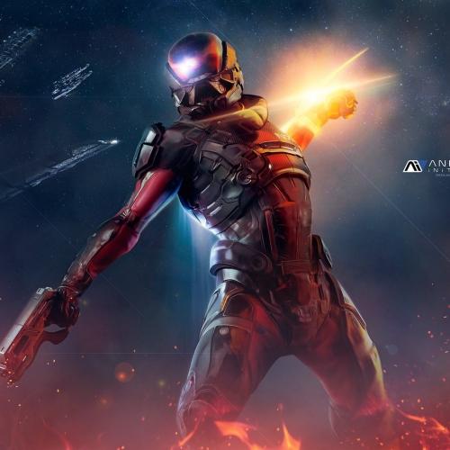 Andromeda Initiative Wallpapers Pathfinder 4k by RedLiner91.deviantart.com