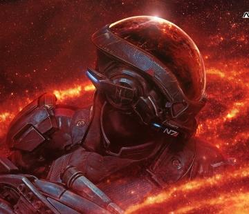 Andromeda Initiative Wallpapers Ryder N7 4k by RedLiner91.deviantart.com