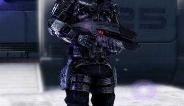 Shepard dans son armure Ajax par the-sheperd-96.deviantart.com