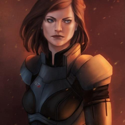 Nymeria Shepard par gravity-zero.deviantart.com