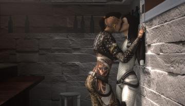 Jack and Miranda resolving sexual tension par turpuli.deviantart.com