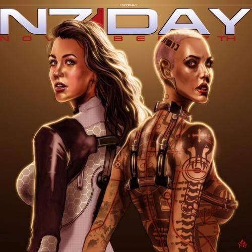 N7 Day - Miranda and Jack par kennygordon.deviantart.com