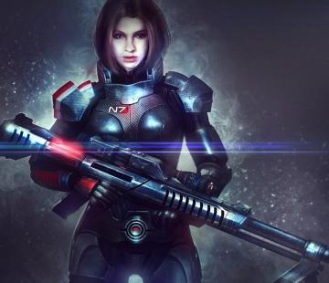 Mass Effect Alexandra Shepard RLP-Commisssion by Eddy-Shinjuku.deviantart.com
