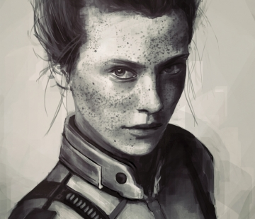 Sara Ryder by valleniel.deviantart.com