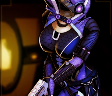 Tali'Zorah by Baconmoose.deviantart.com