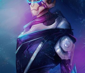 Vetra Mass Effect Andromeda by FallonBeaumont.deviantart.com