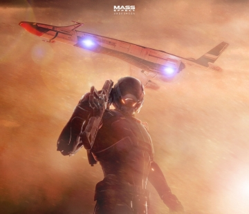 Wanderer Mass Effect Andromeda Wallpaper 4K by RedLiner91.deviantart.com