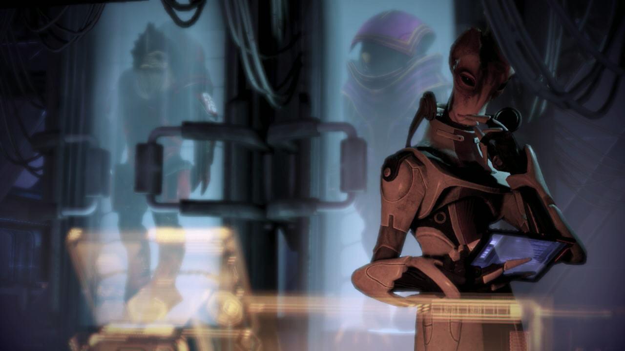 Destruction/Contrôle, Wrex est mort, Shepard pragmatique, mensonge au sujet du génophage.