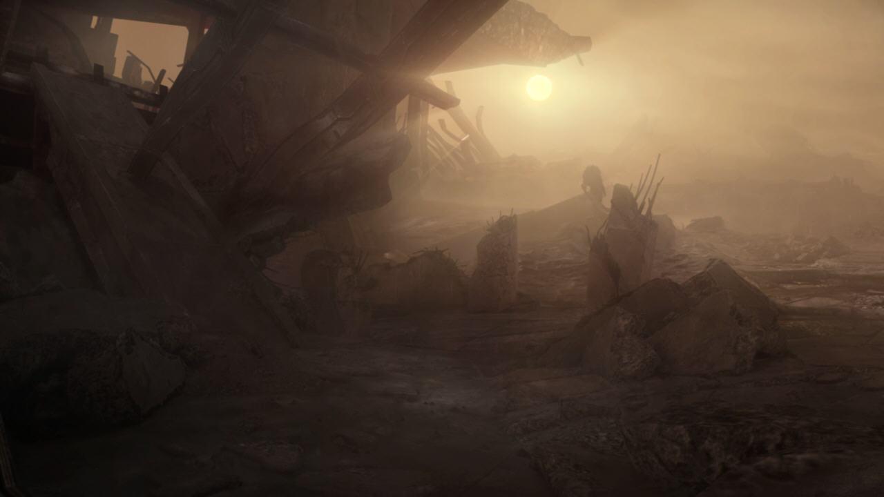 Destruction, Génophage conservé, Rachnis, Eve et Wrex décédés.