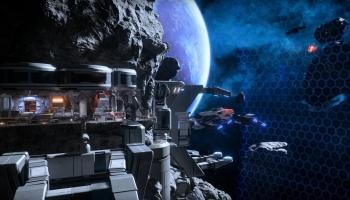 Base zéro : un avant-poste construit dans un astéroide