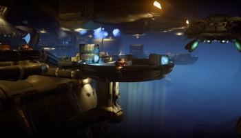 Epave : un vaisseau Kert abandonné