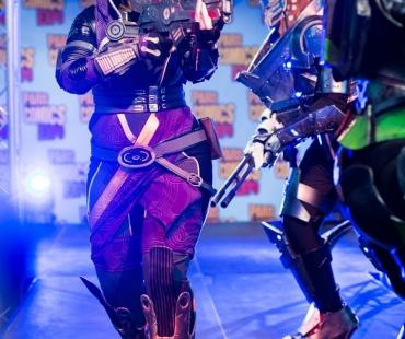 Atalante cosplay en Tali