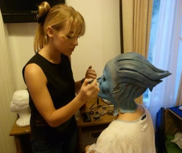 Rana maquillé par Ophélie Veret Makeup Artist