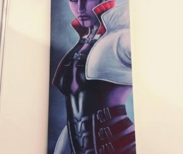 Peinture de Shenzi Cosplay