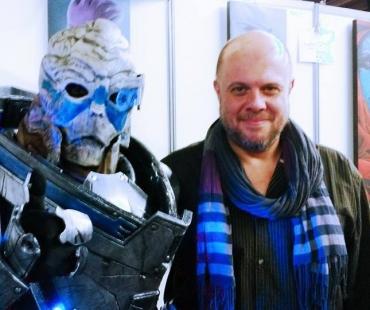 Kuma cosplay et Gilles Morvan