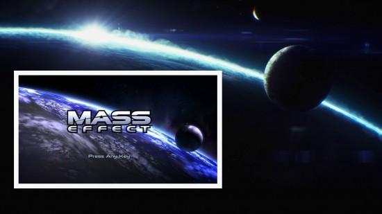 Plan sur une planète (hommage au passage au menu du premier jeu)