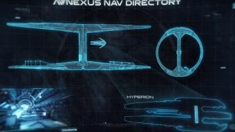 Le Nexus et l'Hyperion (une des 4 arches)