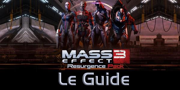 Mass Effect 3 Guide Resurgence Pack