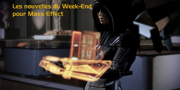 Les nouveautés de Mass Effect