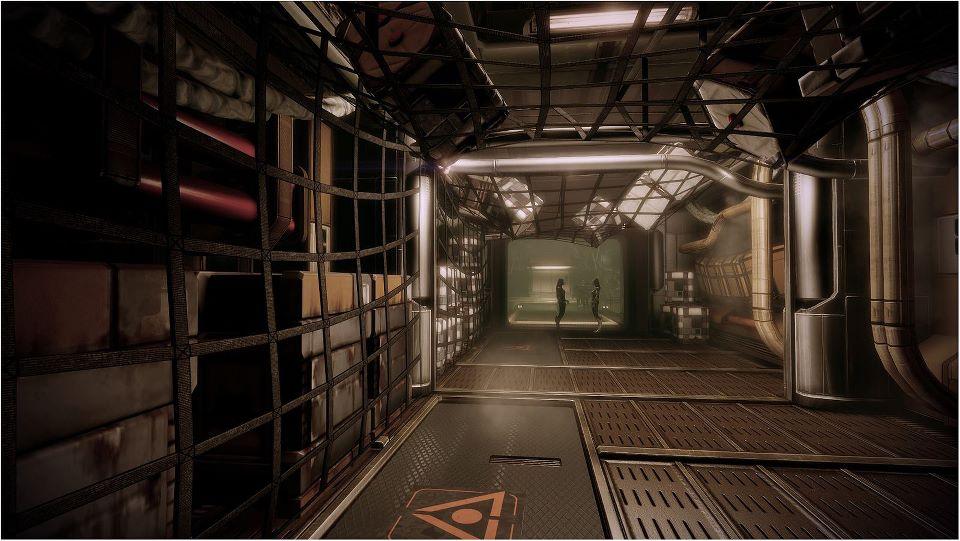 Geth et quariens la guerre de l 39 eveil for Interieur vaisseau spatial