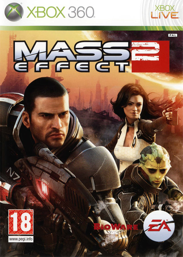 Jaquette Mass Effect 2