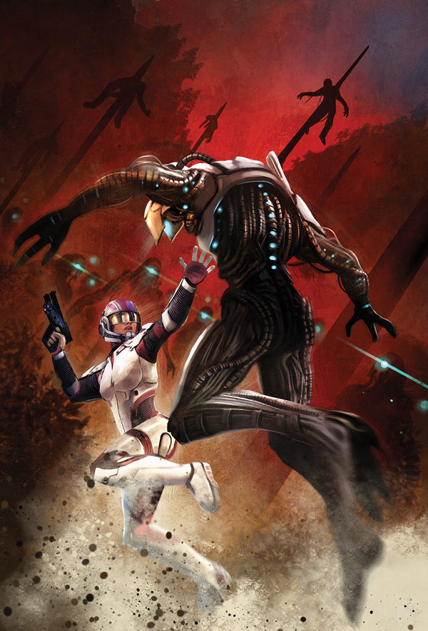 Mass Effect - Foundation : Tome 3 (Cover par Benjamin Carré)