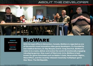 Présentation de Bioware