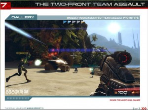Quand Mass Effect rencontre Battlefield !