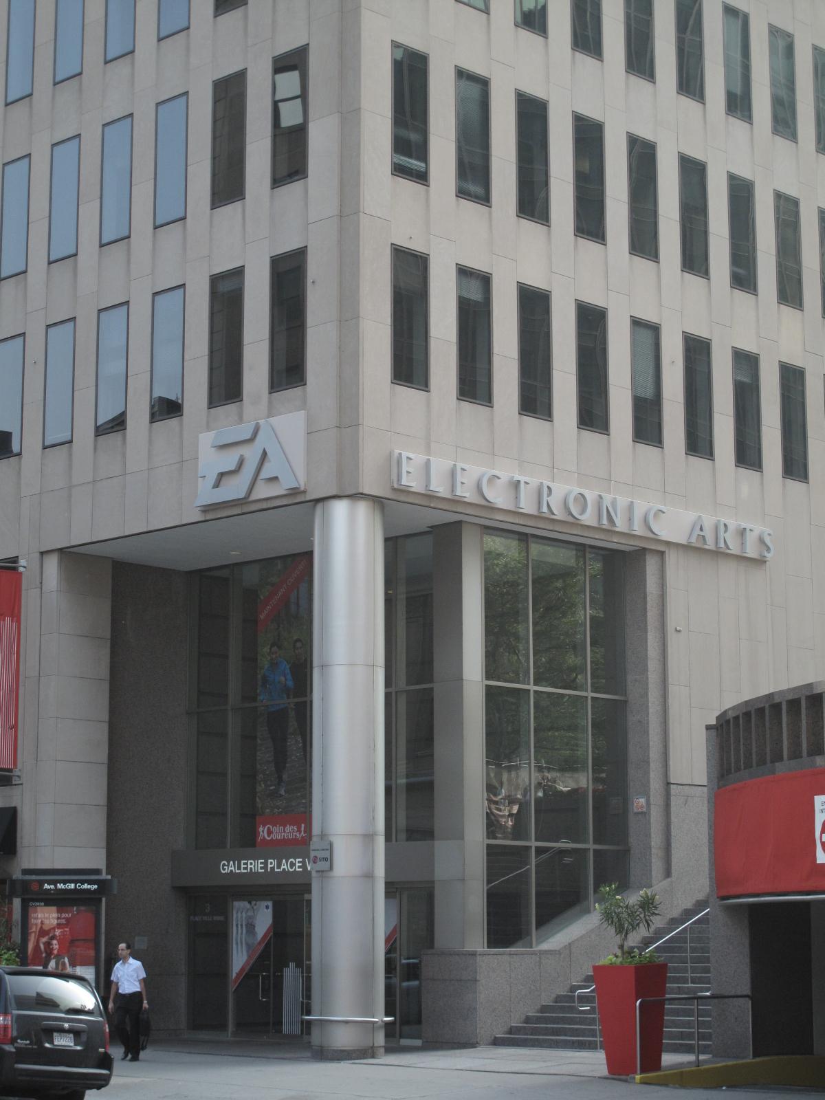 Façade d'EA Montréal